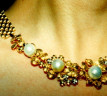 South Sea Pearl Necklace in Flower Design