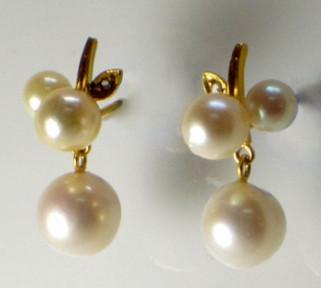 South Sea Pearl earrings set