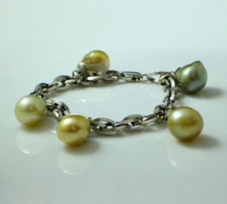 Baroque South Sea Pearl Bracelet