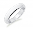 Kristina Classic White Gold Wedding Ring