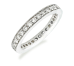 Rosalinda White Gold Eternity Ring
