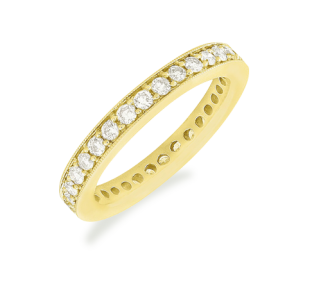 Rosalinda Gold Eternity Ring